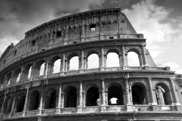 Broken Coliseum, Rome