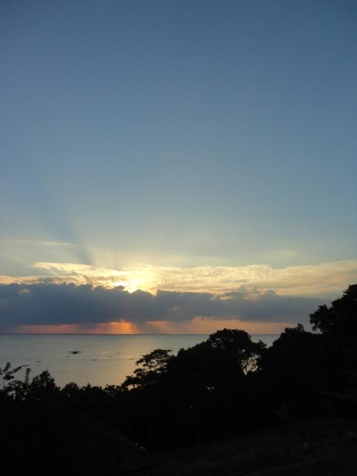 Sunset di Bukit Berahu