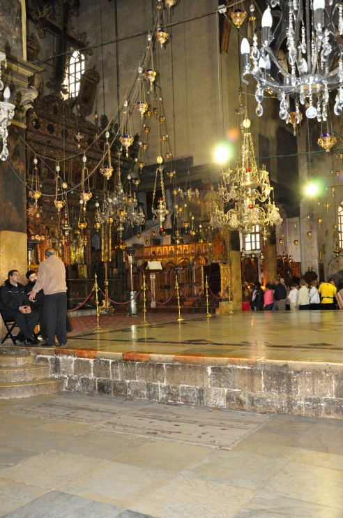 Interior of Nativity Church. March 2012